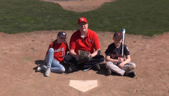 "Brian Mitchell and his children wanted to show how much they missed baseball. So they made a video, set to the tune of ""Part of Your World"" from ""The Little Mermaid."""