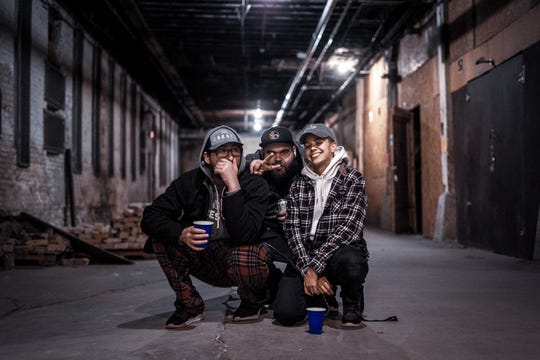 Jillian's Revenge, a new group featuring Milwaukee rappers Yogie B, Keez and Shle Berry, released a new song inspired by their personal anxieties surrounding the coronavirus crisis.