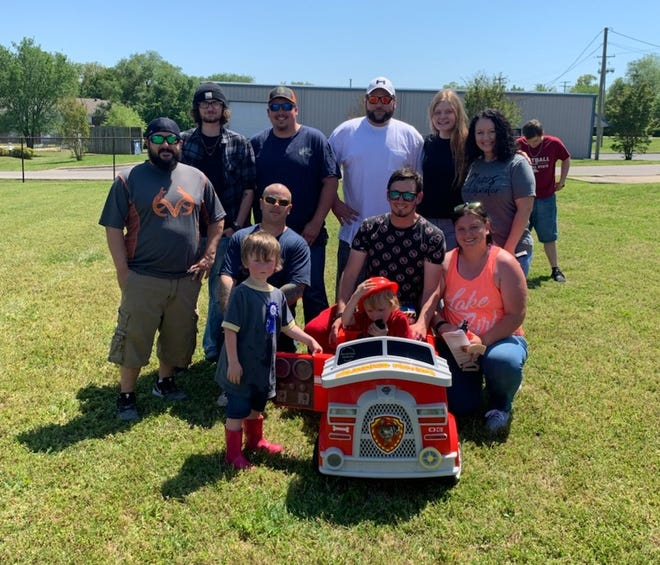 Modded Minds Car Club of Mountain Home hosted a birthday parade on Saturday for 4-year-old Alister Bittenbender and presented him with a firetruck. Modded Minds is currently doing fundraisers and shows to help local food banks, shelters and others in need. For more information about the club, please call (870) 421-5162 or (870) 656-7256. The club can also be found on Facebook.