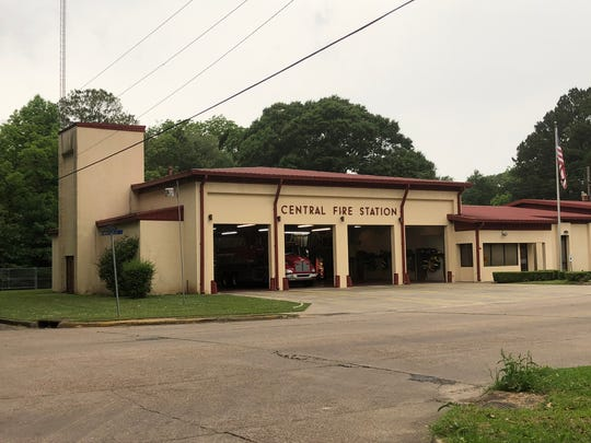 Central Fire Station in Bastrop