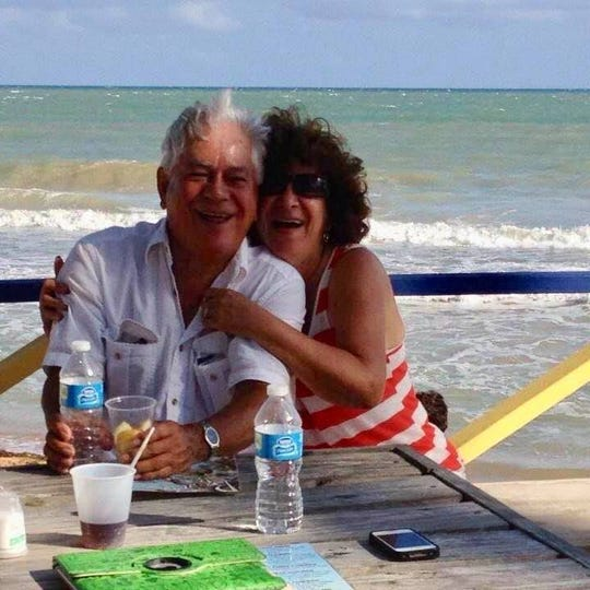 Orfilia De Jesus, 67, spent 37 years alongside her husband Francisco De Jesus.