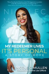 Christian artist Nicole C. Mullen details physical abuse she experienced in her first marriage in a new book, My Redeemer Lives: It's Personal -- A Story of Hope