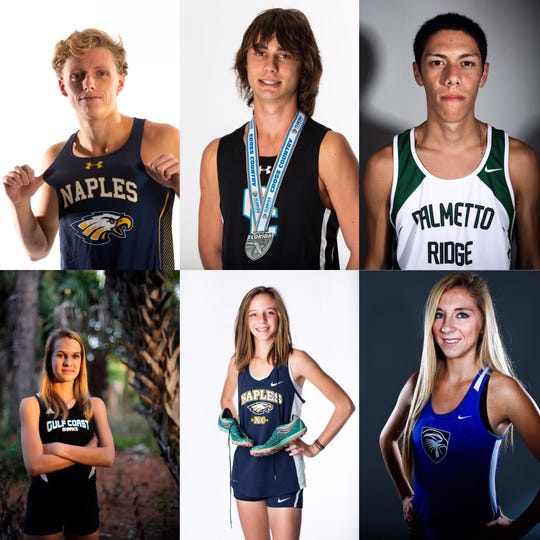 Daily News Boys and Girls Cross Country Runners of the Decade collage.
