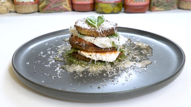 Try this fresh eggplant recipe for a delicious, hearty meal.