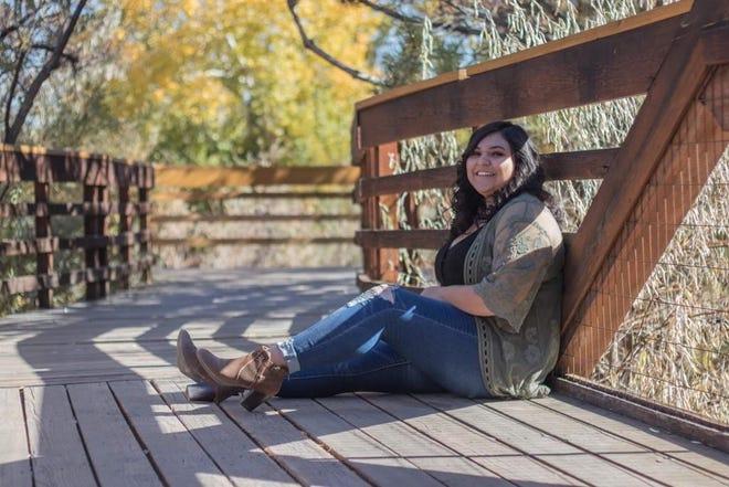 Arlette Adelle Cota, Yerington High School. Arlette will pursue a career in social work.