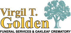 Virgil T. Golden Logo