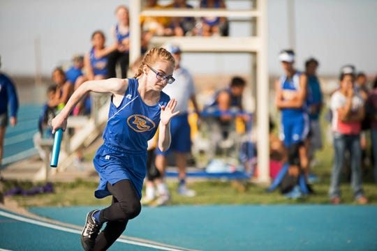 Reagan County sophomore Kayla Myers hoped to return to regional in the 4x100 relay, where she was an alternate for the Lady Owls last spring. Cancellations due to the COVID-19 pandemic has forced many young athletes to look for other ways to continue their athletic development.