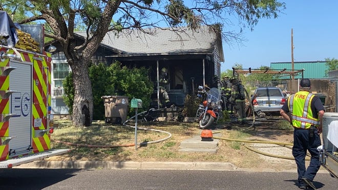 A structure fire in the 1900 block of North Oakes left a home as a total loss, according to first responders on Tuesday, May 5, 2020.