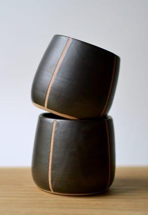 St. Cloud artist Desi Murphydesigns functional clay pieces.