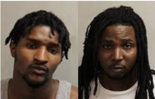 Tallahassee police arrested Rastacy Beam (left) and Michael Davis (right) Monday, May 4, 2020.