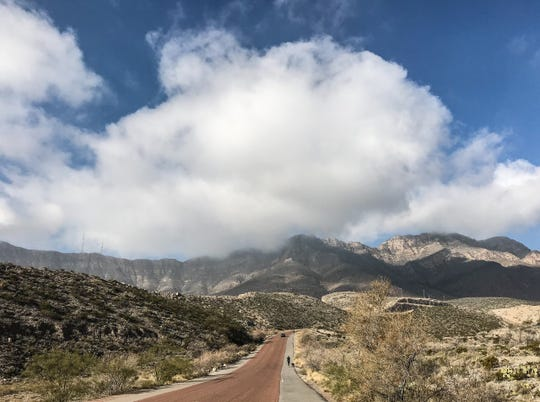 McKelligon Canyon is popular with residents who hike, exercise and picnic at the site. It currently is closed due to coronavirus concerns.
