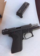 Firearm seized by Oxnard police.