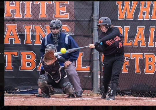 The lohud softball spotlight is on White Plains' three-time all-section player, Sarah DiSanto.