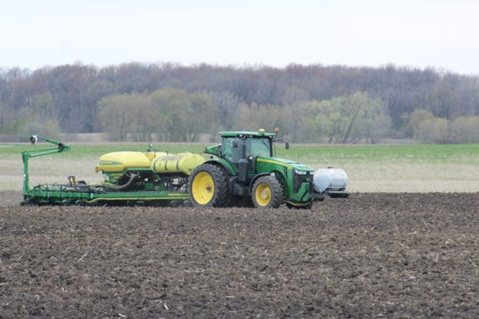 Planting is ahead of last year thanks to a window of dry weather has allowed farmers to work land across the state.