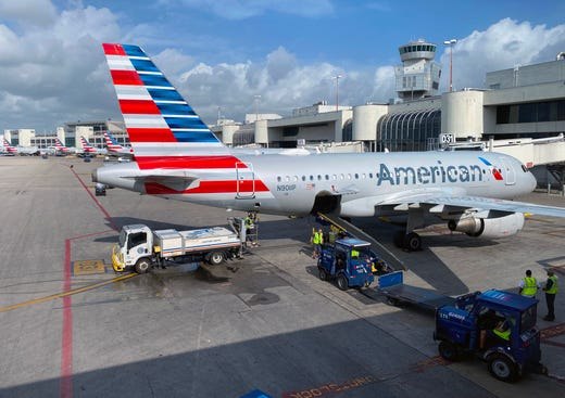 "<strong>American Airlines:</strong> The Fort Worth, Texas-based carrier has&nbsp;<a href=""https://www.aa.com/i18n/travel-info/travel-with-confidence.jsp?anchorLocation=HomePageHero1&amp;reportedTitle=How%20we%27re%20committed%20to%20clean%20at%20every%20step.&amp;reportedPosition=0&amp;url=undefined&amp;_locale=en_US&amp;repositoryName=undefined&amp;repositoryId=undefined#traveltips"" target=""_blank"">required masks</a>&nbsp;since May 11. It&nbsp;enforces this policy at the gate and will deny boarding to customers who don&rsquo;t comply. Passengers who refuse to wear one may also be denied boarding on future flights, as well.&nbsp;American Airlines' updated mask requirement, which requires all customers over 2 years old to wear masks at airports and on board, goes into effect July 29.<br /> <strong>Who has to wear a mask?</strong>&nbsp;All passengers except for those under 2 years old.<br /> <strong>Where do you have to wear a mask?</strong>&nbsp;Everywhere. &quot;The only time face coverings may be removed at the airport or on board is when the customer is eating or drinking,&quot; according to a <a href=""http://news.aa.com/news/news-details/2020/American-Airlines-Strengthens-Its-Commitment-to-Safety-With-Expanded-Face-Covering-Requirements-and-Enforcement-OPS-DIS-07/?utm_source=News_Alert&amp;utm_medium=email&amp;utm_campaign=Newsroom_Alerts"">statement</a> from the airline. &quot;Those unwilling to comply with this face covering requirement at any time during their journey with American may be barred from future travel for the duration of this face covering requirement.&quot;<br /> <strong>Do you need to bring your own mask?</strong> You should, as American won't have enough for everyone. &quot;While limited quantities of face coverings may be available at the gate, they will not be available for every customer on every flight,&quot; per the<a href=""https://www.aa.com/i18n/travel-info/coronavirus-updates.jsp""> airline</a>."