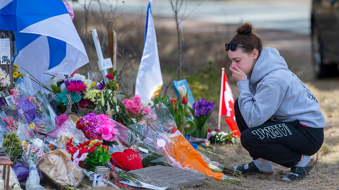 Canada bans assault weapons after mass shooting. The contrast with US inaction is painful.