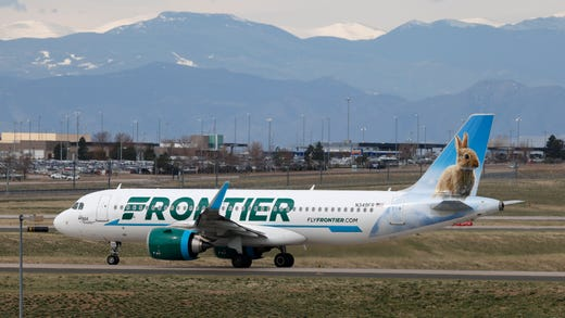 "<strong>Frontier Airlines: </strong>The airline has <a href=""https://www.flyfrontier.com/committed-to-you/?mobile=true"" target=""_blank"">required passengers to wear masks</a> since May 8.<br /> <strong>Who has to wear one? </strong>The airline's website does not list any exemptions.<br /> <strong>Where do you have to wear a mask?</strong>&nbsp;They need to be worn at ticket counters, gate areas and while onboard.<br /> <strong>Do you need to bring your own mask?</strong> Yes. The airline even provides&nbsp;<a href=""https://www.flyfrontier.com/travel-tails/posts/2020/travel-tips/how-to-make-a-no-sew-face-mask-for-you-and-your-family/?mobile=true"">tips on how to easily make one</a>."