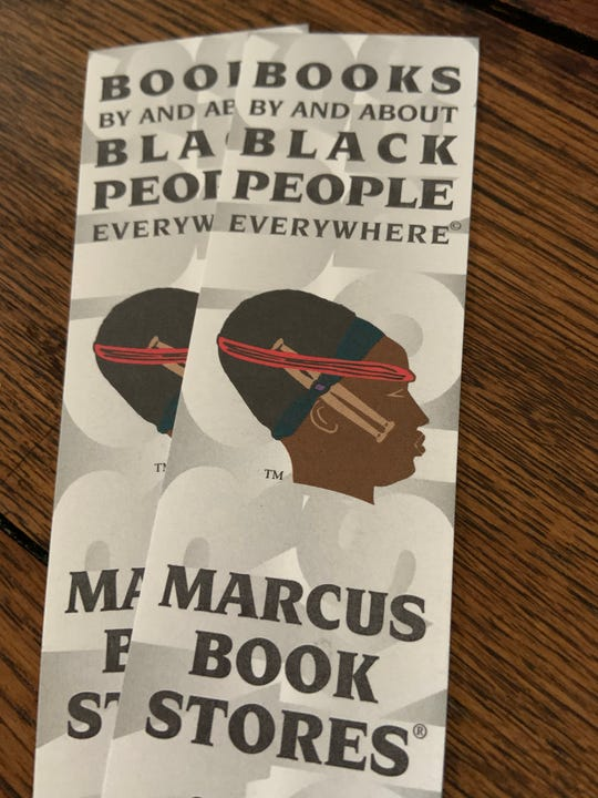 """""""Books By and About Black People Everywhere"""" is the slogan of Marcus Books in Oakland, California"""