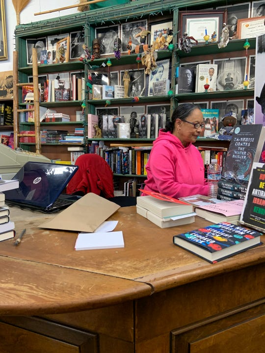 Blanche Richardson who runs Marcus Books in Oakland, California