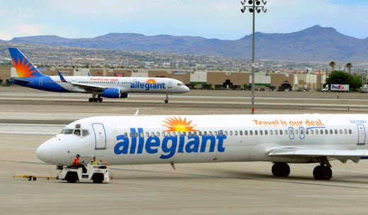 "<strong>Allegiant Air: </strong>The Las Vegas-based budget carrier is made masks mandatory beginning July 2.<br /> <strong>Who has to wear a mask?&nbsp;</strong>All passengers except children ages 2 and under and passengers with disabilities or documented medical conditions,&nbsp;<a href=""http://ir.allegiantair.com/news-releases/news-release-details/allegiant-expands-health-and-safety-commitment-requiring"" target=""_blank"">Allegiant's website said.</a>&nbsp;<br /> <strong>Where do you have to wear a mask?</strong>&nbsp;<a href=""http://ir.allegiantair.com/news-releases/news-release-details/allegiant-expands-health-and-safety-commitment-requiring"" target=""_blank"">According to a release from Allegiant</a>, &quot;customers will be required to wear face masks during all phases of travel, including at the ticket counter, in the gate area, during boarding, on the aircraft and during the flight.&quot;<br /> <strong>Do you need to bring your own mask?</strong> No. Customers can use either their own face mask or covering, or take advantage of the mask provided in Allegiant's health and safety kit."