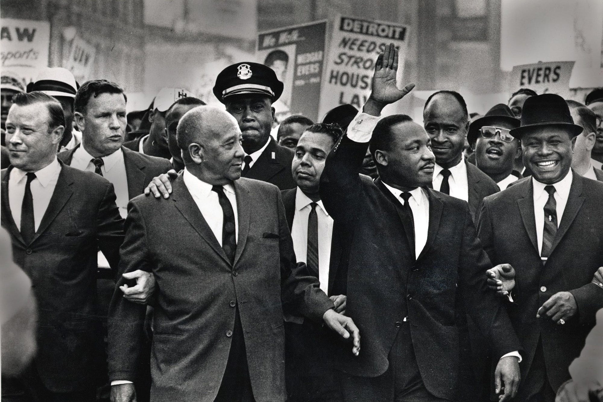 Fact Check: Most Civil Rights-era Images Weren't Made In Color