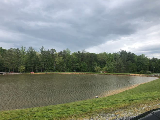 A developer wants to put 198 apartments on a wooded parcel to the south of Rutledge Lake RV Park in Fletcher, but the proposal would require a zoning change.