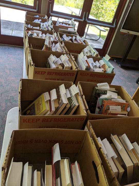 All items returned to the Madison County Public Library are cleaned and quarantined before made available for checkout by other patrons.