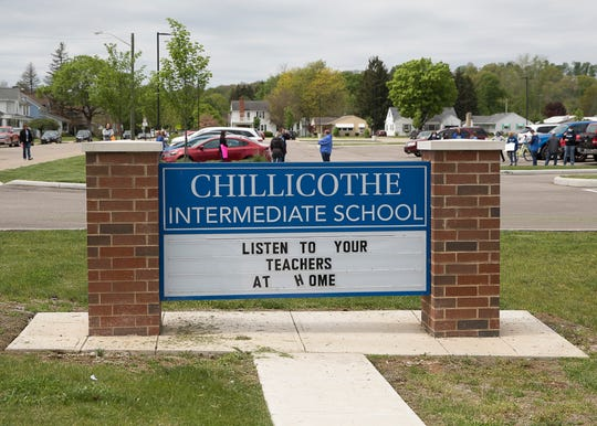 Students and parents came out to celebrate their teachers in a parade that ran through Chillicothe on Tuesday, May 5, 2020. Signs and socially distant celebrations were a large part of the parade.