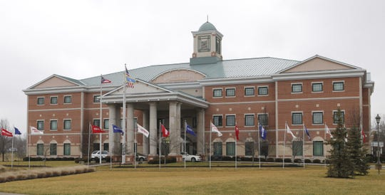 The Warren County Administration Building, shown in this 2012 Enquirer file photo, in Lebanon.