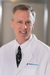 Dr. Russell Vester is a cardiothoracic surgeon at Jewish Hospital. He was on the care team for Dan Pilder, 70, of Finneytown, the hospital's first patient with COVID-19, the respiratory disease that results from infection from the new coronavirus.