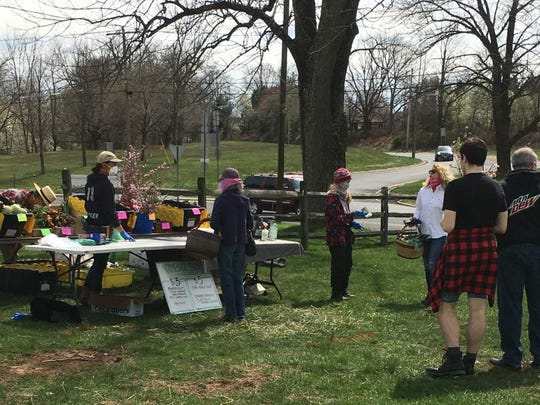 Central Jersey farmers markets, such as Hunterdon Land Trust in Flemington, have enacted strict safety protocols, such as social distancing and masks required of both vendors and shoppers.