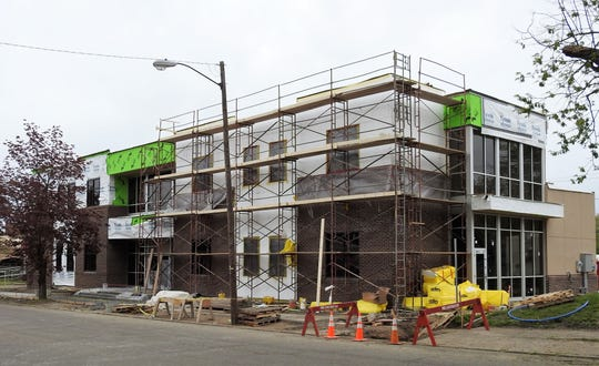 The two-story, 9,500 square-foot building at 710 Main St. will feature counseling, medication, case management, crisis intervention and residential treatment in a state-of-the-art setting that will allow for expanding of some services such as day treatment programs of Allwell Behaviorial Services. Plans are still on track for the building to be ready for use in June.