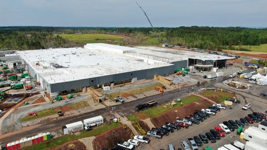 BorgWarner's tornado-damaged plant near Seneca, South Carolina, which makes parts for Fiat Chrysler Automobiles, Ford and Toyota, is back up and running.