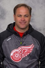 Equipment Manager Paul Boyer of the Detroit Red Wings.