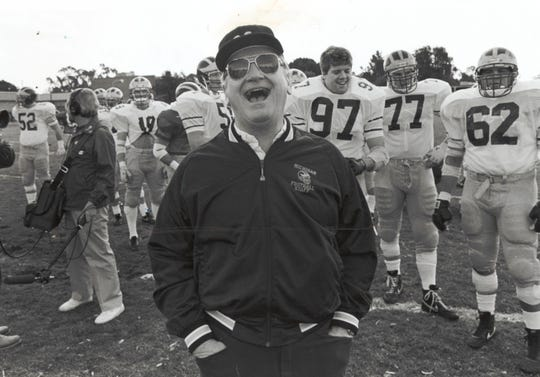 Bo Schembechler won at least 10 games in 11 times at Michigan.