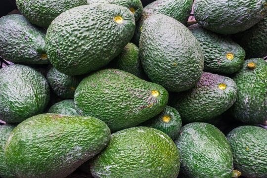 Avocados are one of the foods that have seen a surprising price surge in the last few weeks. (Martin Leber/Dreamstime/TNS)