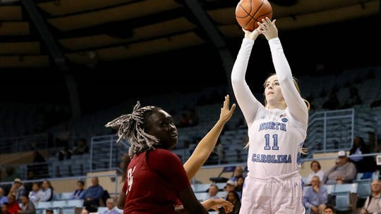 Emily Sullivan, who earned All-State status at Memorial, played in over 50 games at North Carolina despite battling injuries.