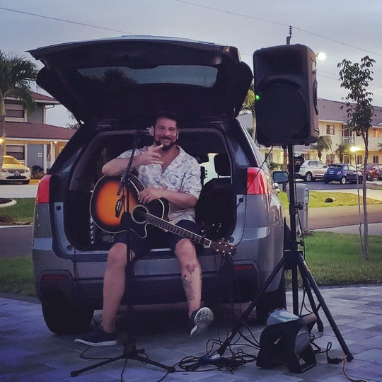 Musician Bob Tabarrini of Fort Myers brings the music to the people with his new Live Music Delivery service.