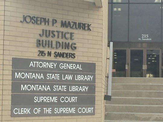 The Joseph P. Mazurek Justice Building in Helena is home to the Montana Attorney General, Supreme Court, State Law Library and State Library.