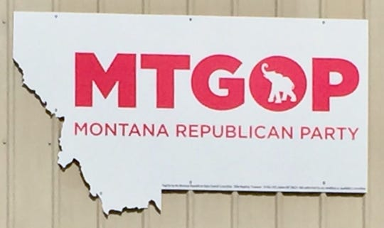 Montana Republican Party headquarters in Helena.