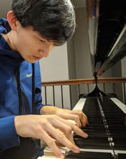"Pianist Jonathan Chen is a co-founder of Cadenza, a new student-run charity club at West High School in Iowa City. The group's ""United in Isolation"" benefit virtual concert series will be launched May 14 on YouTube."