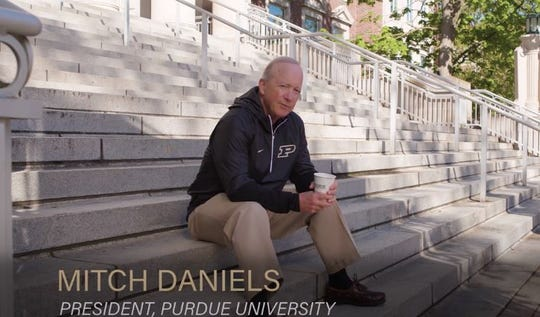 Purdue President Mitch Daniels released a video hinting at changes that might make it possible to bring students back to the West Lafayette campus for the fall 2020 semester.