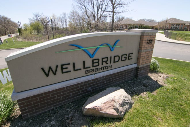 WellBridge of Brighton, shown Wednesday, May 6, 2020, has been dealing with a COVID-19 outbreak.