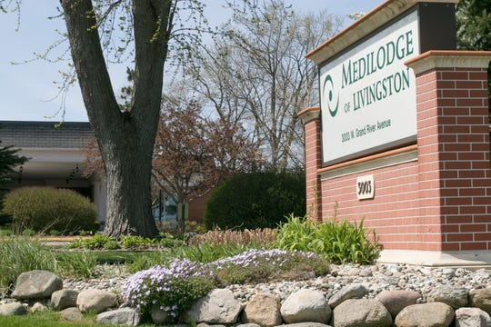 At least one MediLodge of Livingston resident died after contracting COVID-19 while living at the nursing home, shown Wednesday, May 6, 2020.