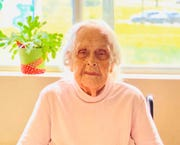 Ruth Harrington celebrated her 109th birthday during the coronavirus pandemic at River's Bend Retirement Community in Lyon County, Kentucky.