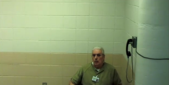 Thomas Thomasevitch in Morris County jail on Wednesday, May 6, 2020.