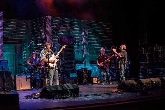 Jeff & The Johnsons perform at River Region Review, Aug. 17, 2019, at the Montgomery Performing Arts Centre in Montgomery, Ala.