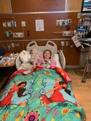 At just eight years old, Adaline Wild contracted coronavirus back in April.