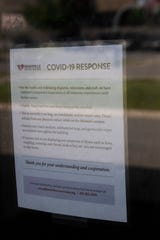 Nashville Rescue Mission has implemented procedures to help prevent the spread of COVID-19. photographed Wednesday, May 6, 2020 in Nashville, Tenn.