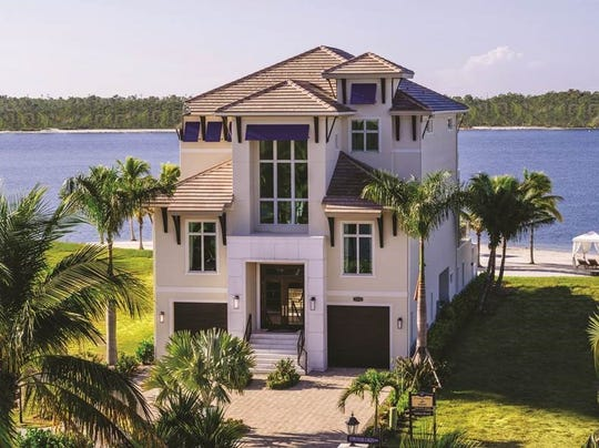 Seagate Development Group's Beach House model in Sardinia at Miromar Lakes is available for immediate occupancy.